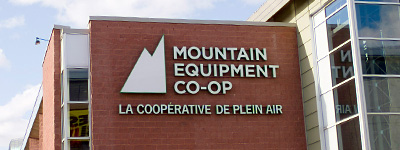 La coopérative de plein air Mountain Equipment Co-op