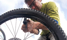 Bike Tire Repair