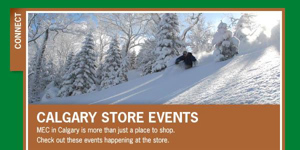 MEC Calgary: February Store Events